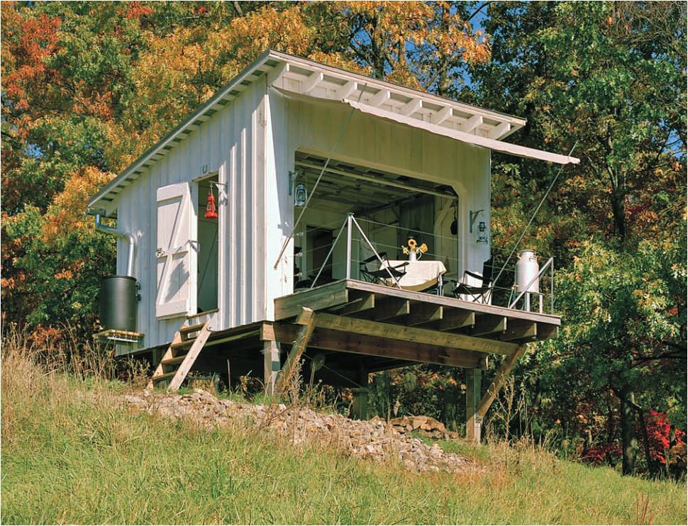 secure remote cabin