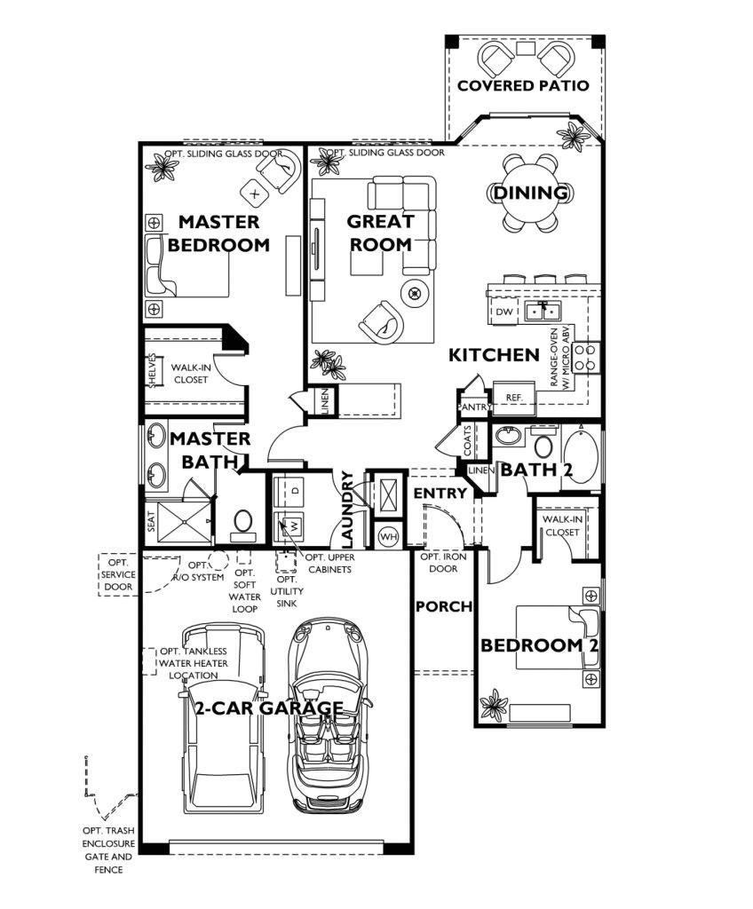 shea home floor plans