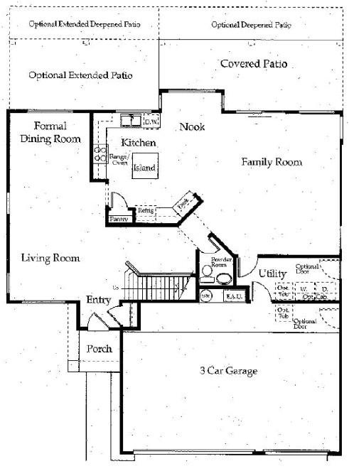 shea homes floor plans