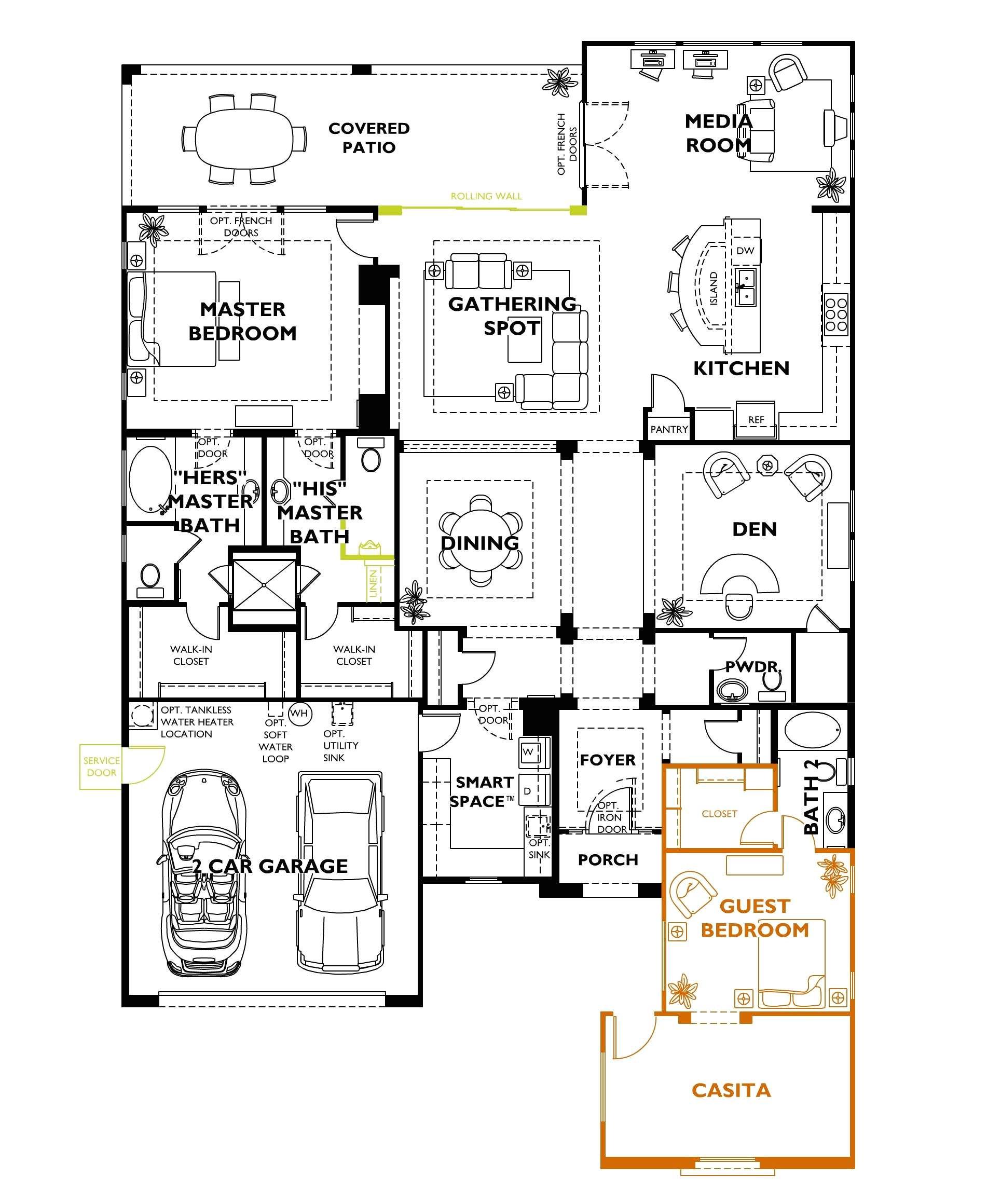 shea homes floor plans arizona