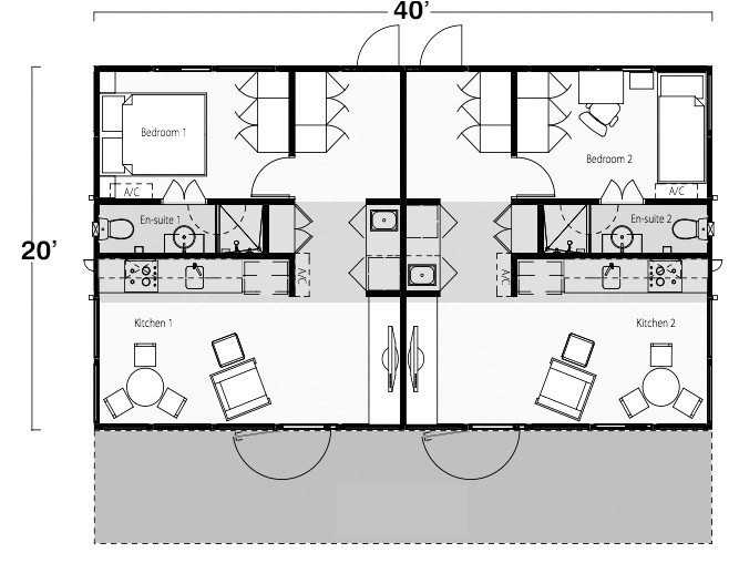 intermodal 20shipping 20container 20home 20floor 20plans