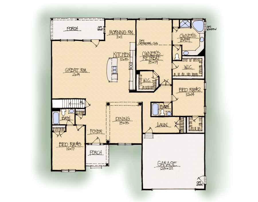 schumacher homes floor plans