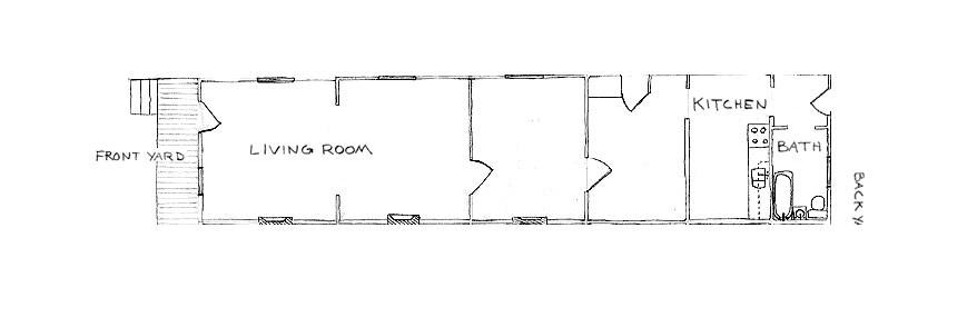 unique history shotgun house