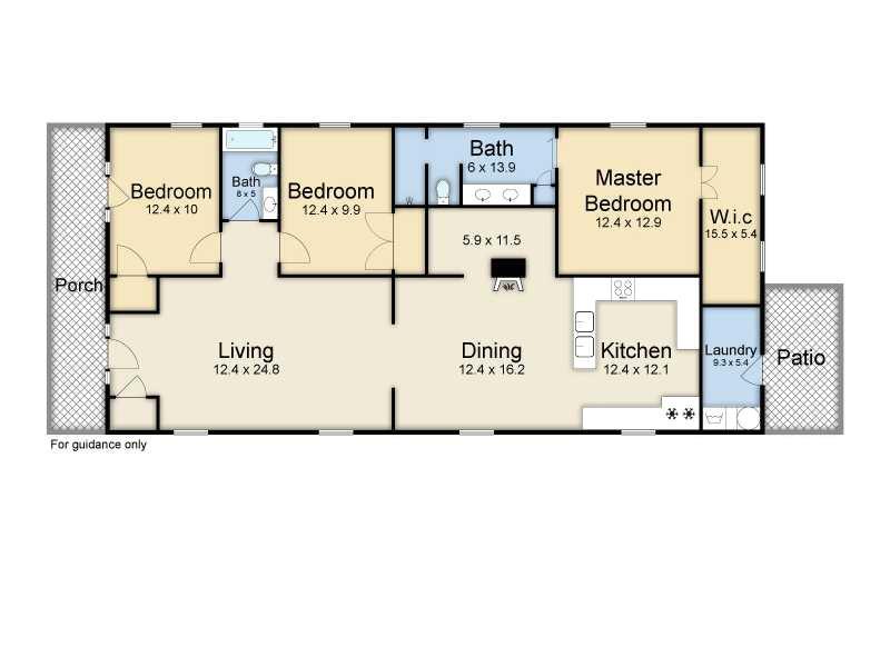 Shotgun Home Plans Shotgun Floorplans Nola Kim