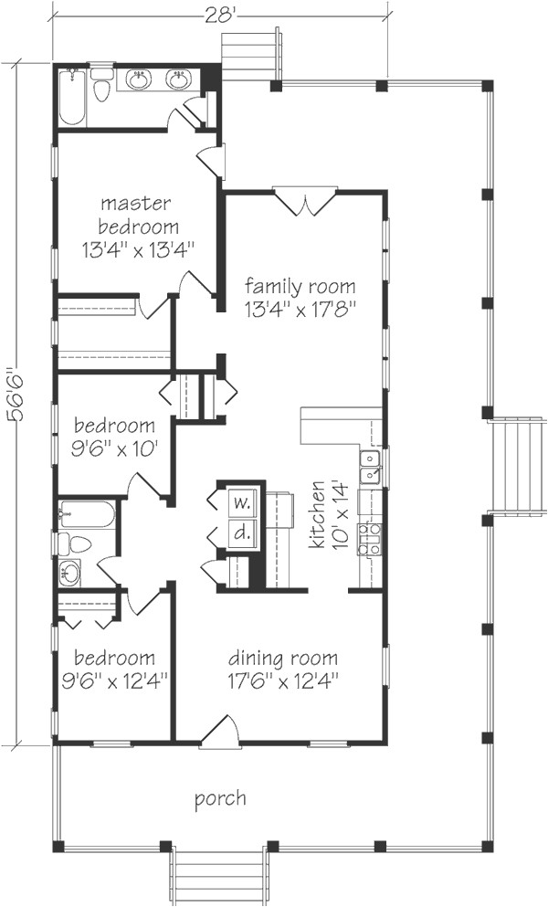 house plan bluffton sl 594 a coastal living houseplan