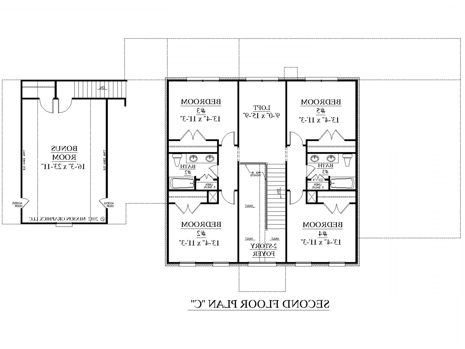 shotgun style floor plans