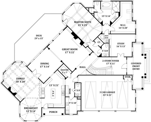 signature home plans traditional floor plan louisville