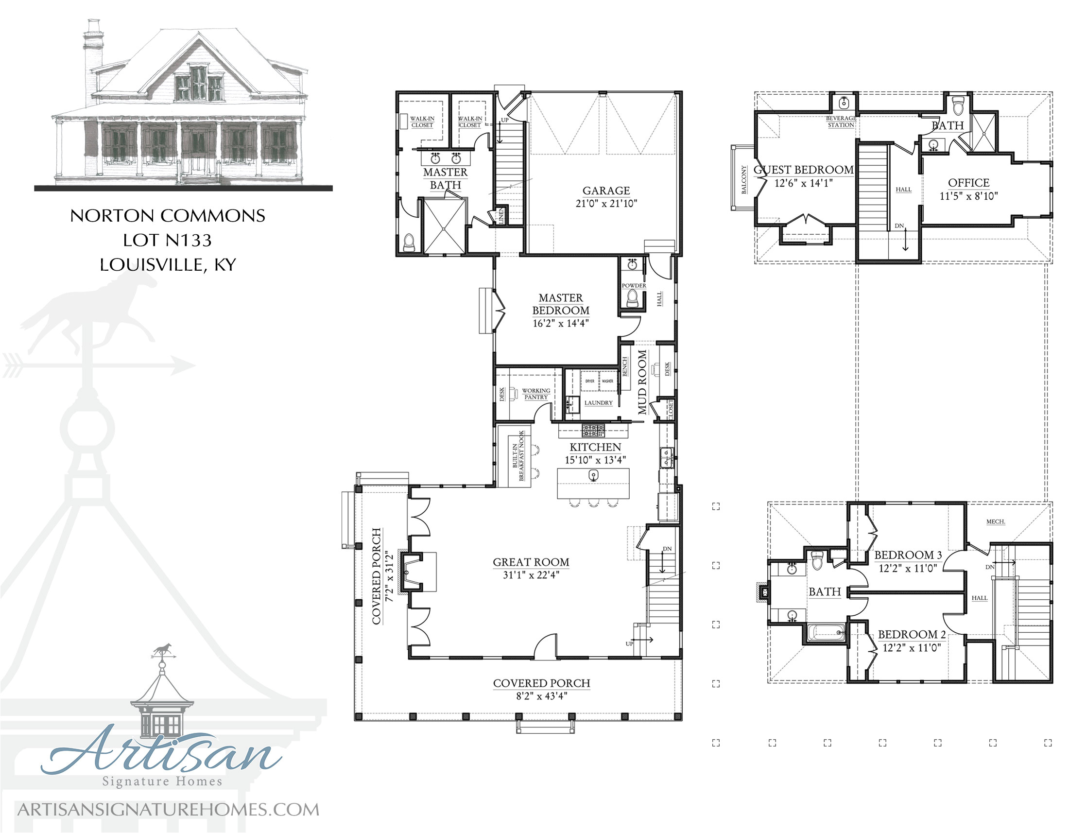 signature homes floor plans