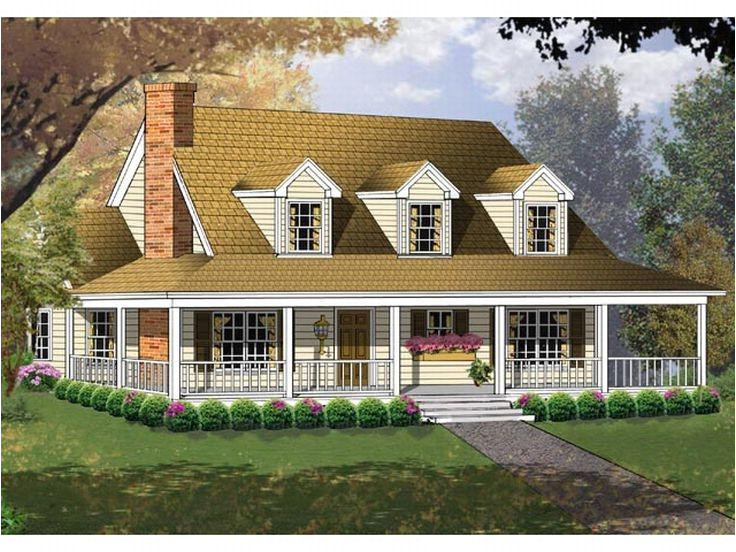 simple country house plans with photos