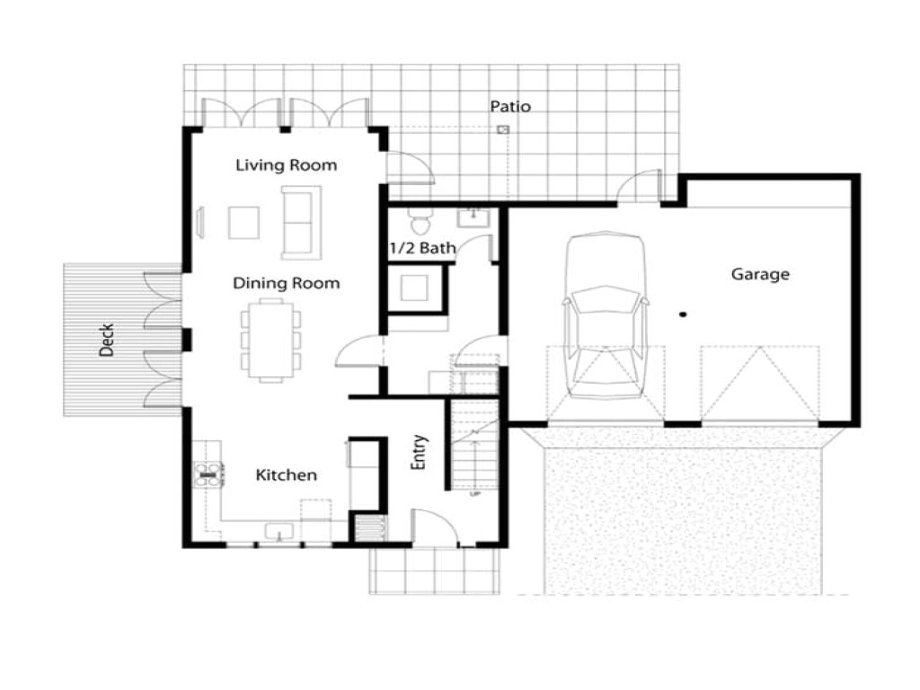 Simple Floor Plans for Homes Simple House Floor Plan Simple Square House Floor Plans