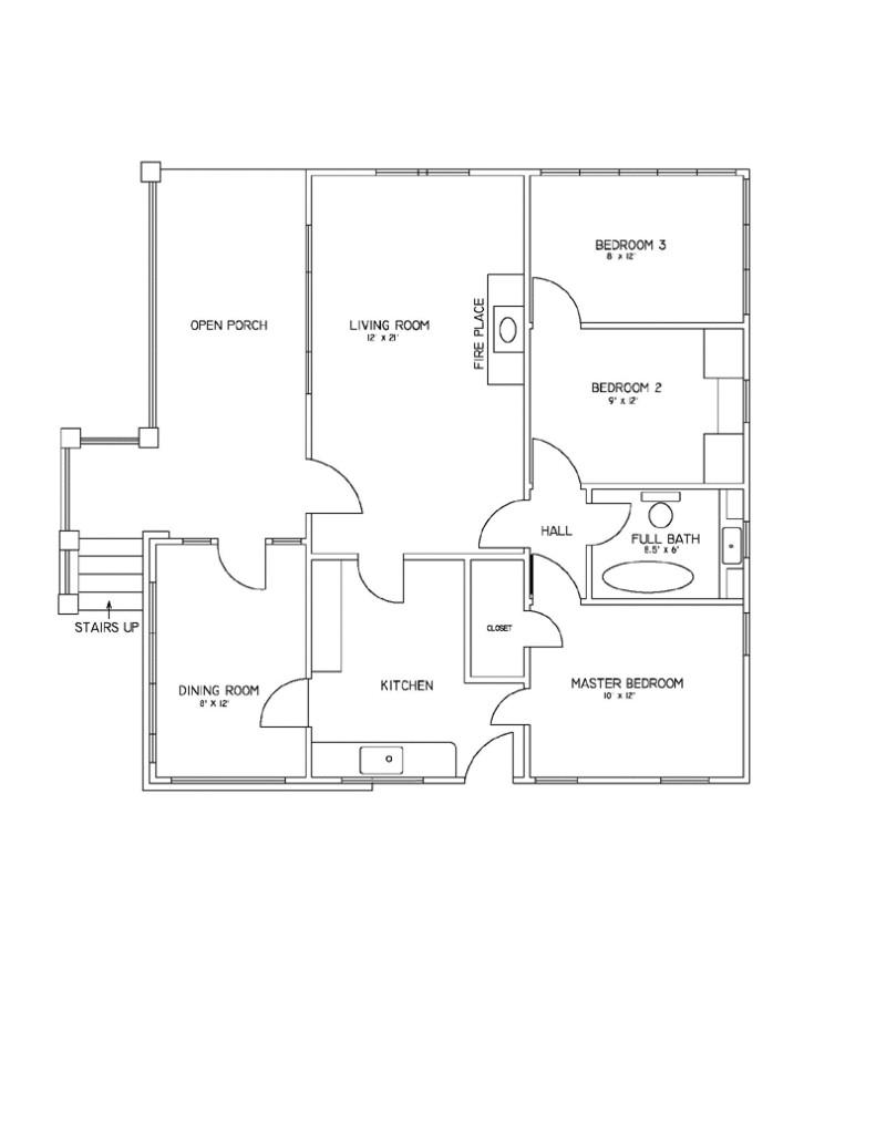 simple floor plans