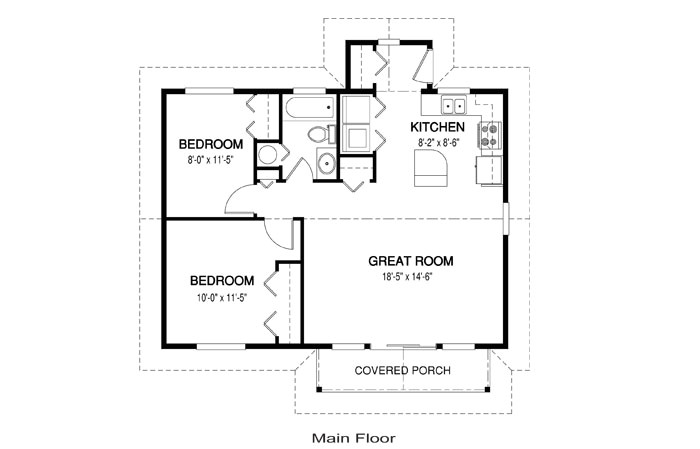 simple house floor plan measurements chase 8