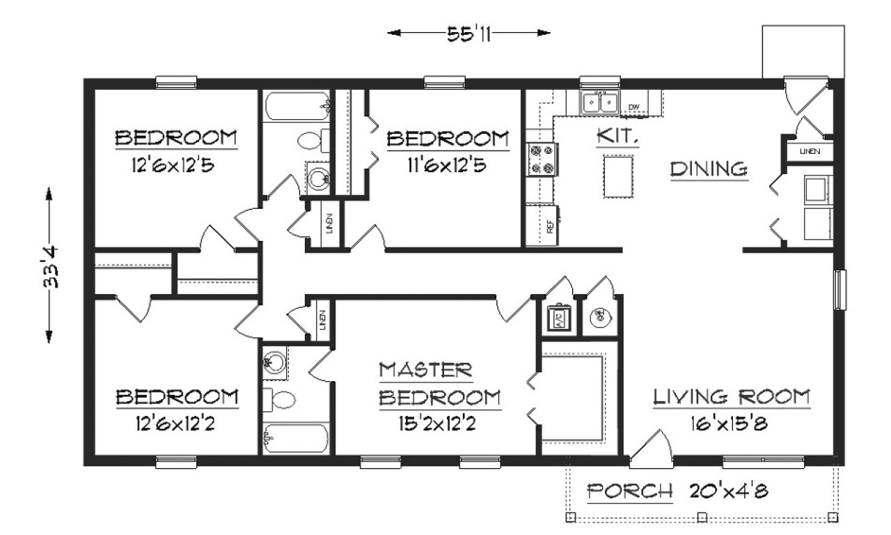 18fe5cb0bf7d335b simple small house floor plans simple small house floor plans with dimension