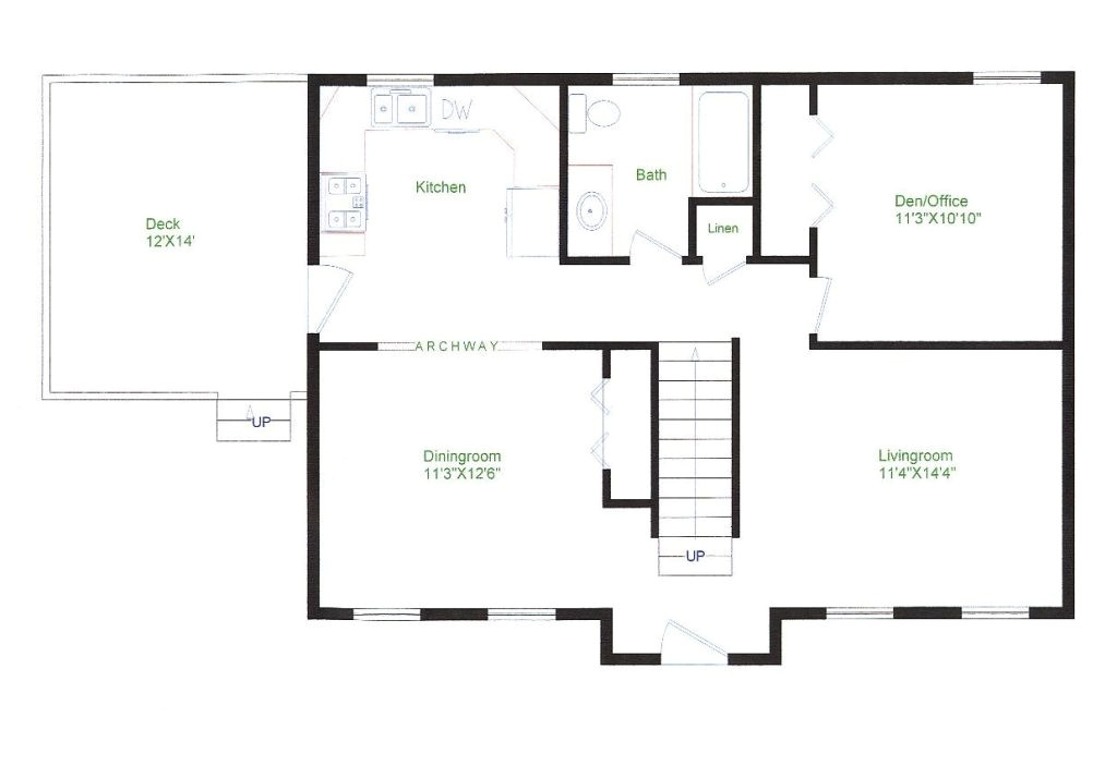 basic ranch style house plans luxury delighful simple 1 story floor plans traditional two design from