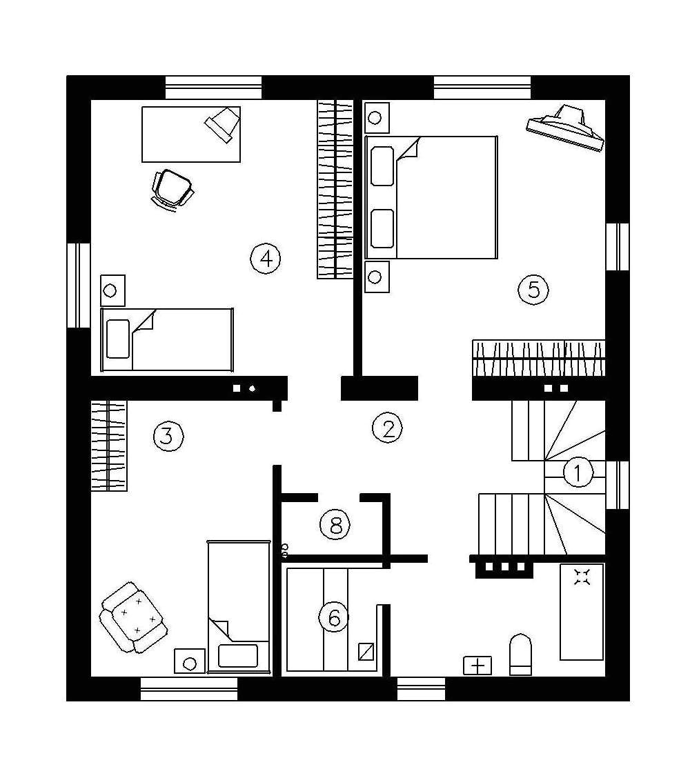 simple 2 story house plans
