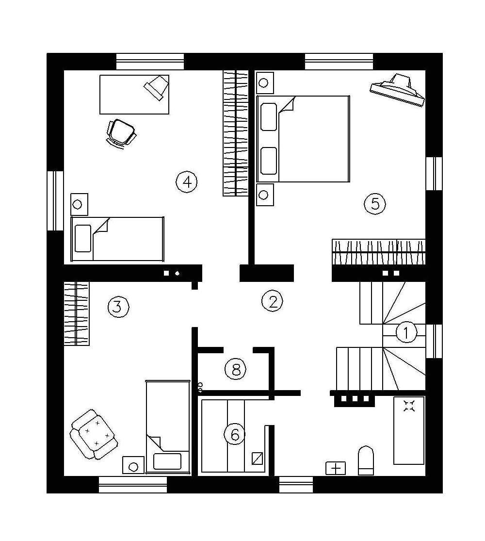 Simple Home Plan Simple 2 Story House Plans Smalltowndjs Com