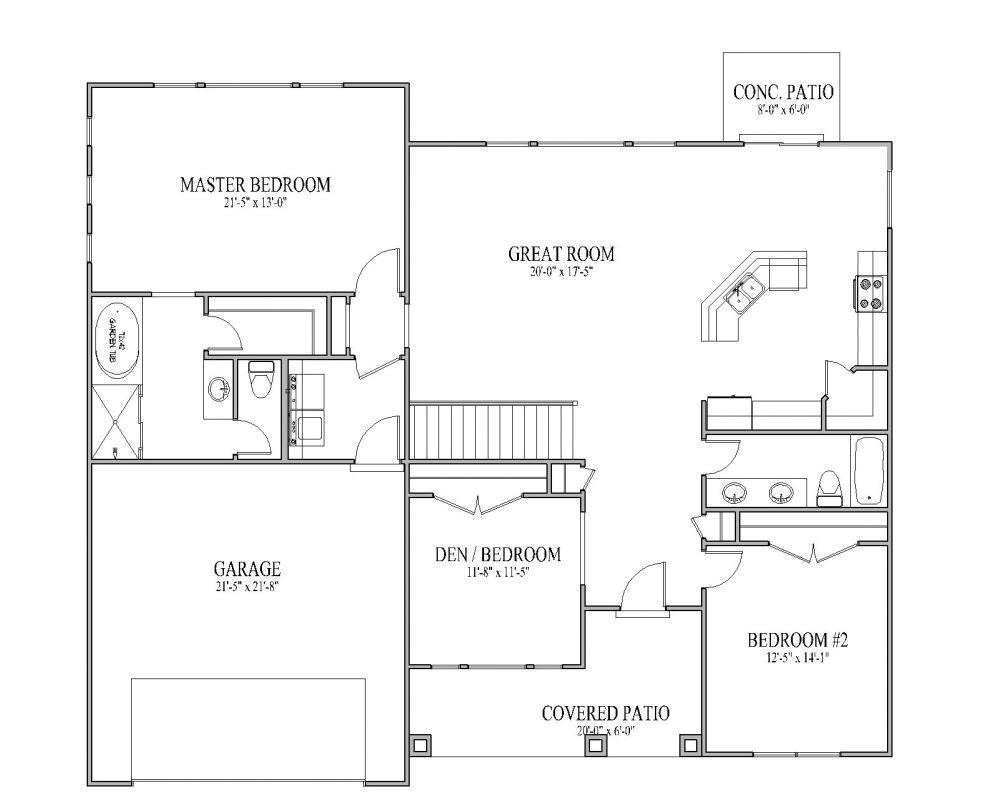 Simple Home Plan Simple House Plans Cottage House Plans