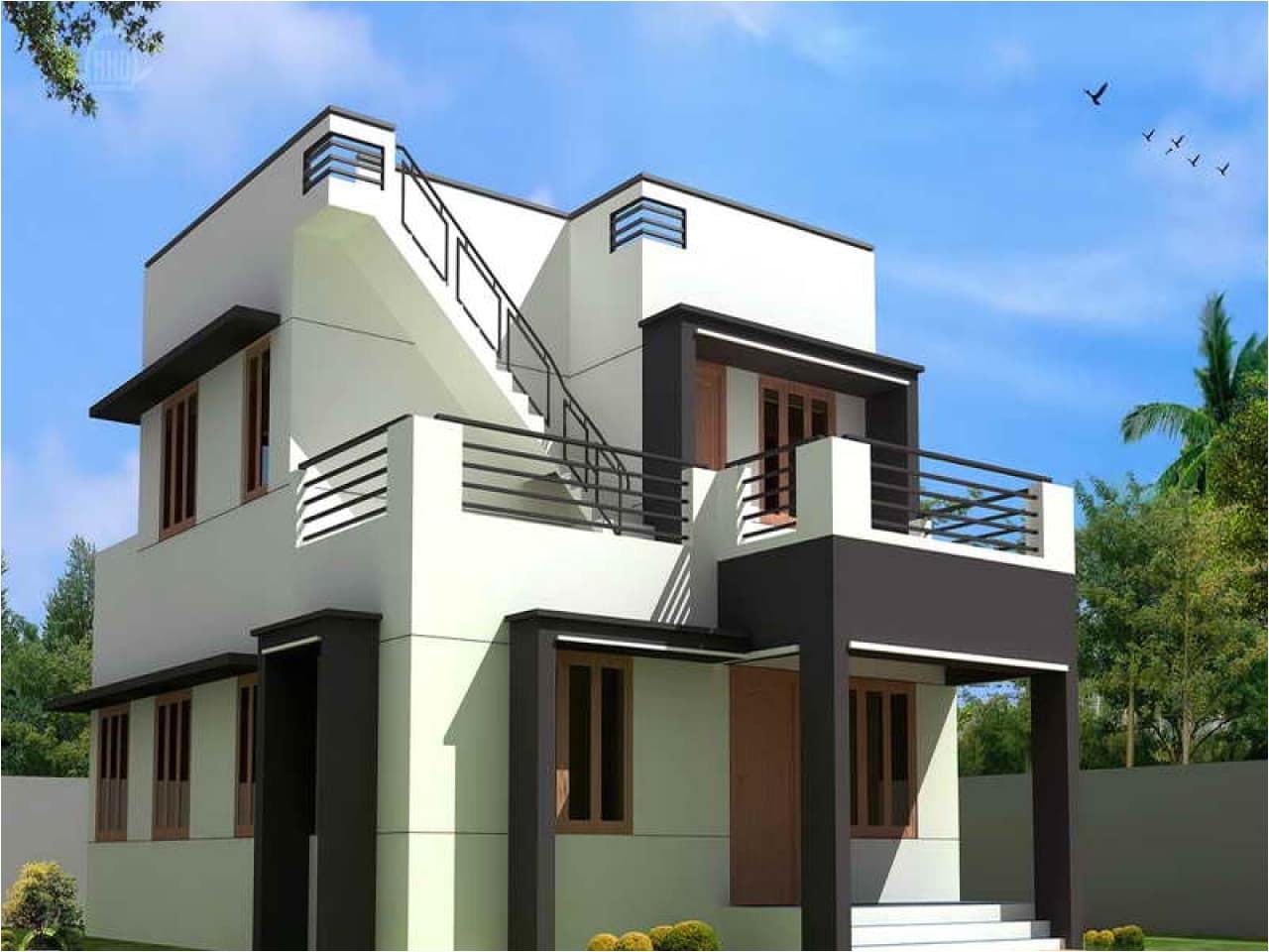 simple modern house plans free