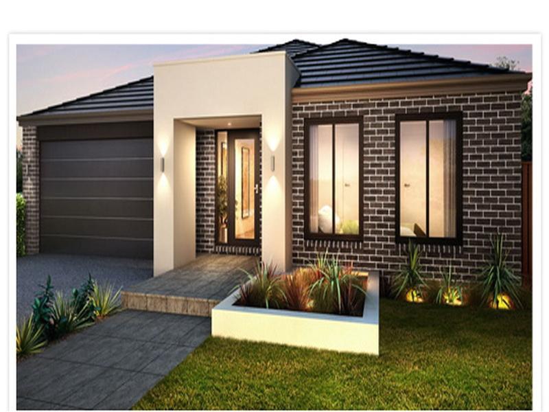 simple modern single story house plans