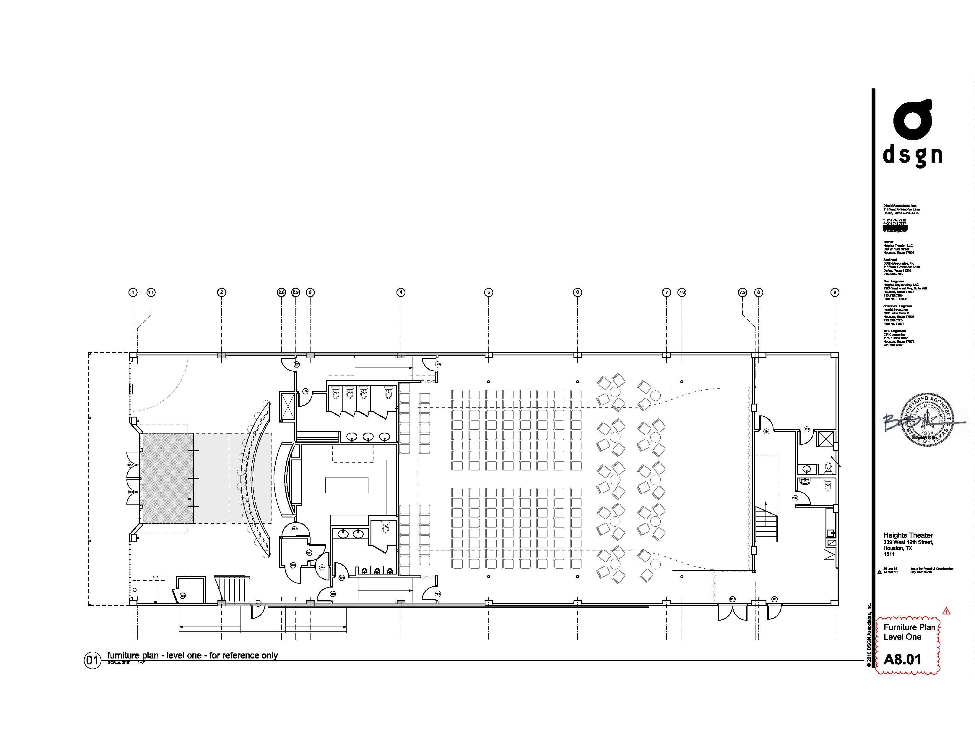 house of blues houston floor plan