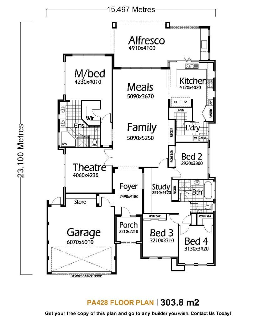 metal building homes floor plans single storey house plans pa428