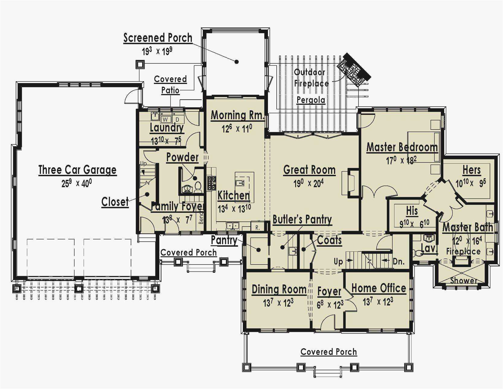 Single Story Home Plans with Two Master Suites 5 Bedroom House Plans with 2 Master Suites Inspirational