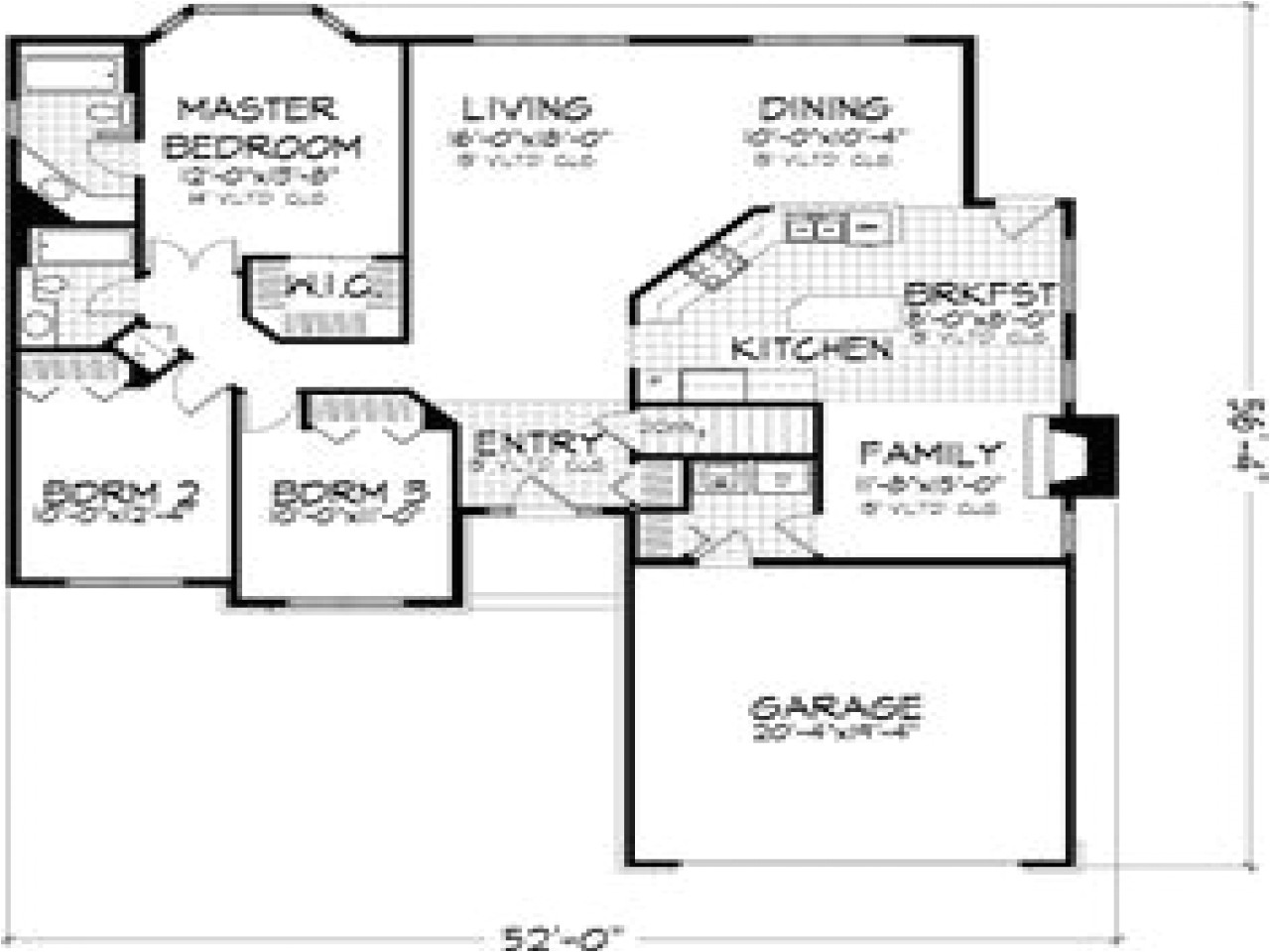 a0f68d18c67ee2dc 3 small house bedroom 3 bedroom house floor plans with garage