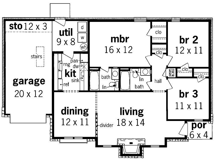 modern 1 story house floor plans inspirational charming ideas e story house plan designs 10 floor plans 5 bedroom