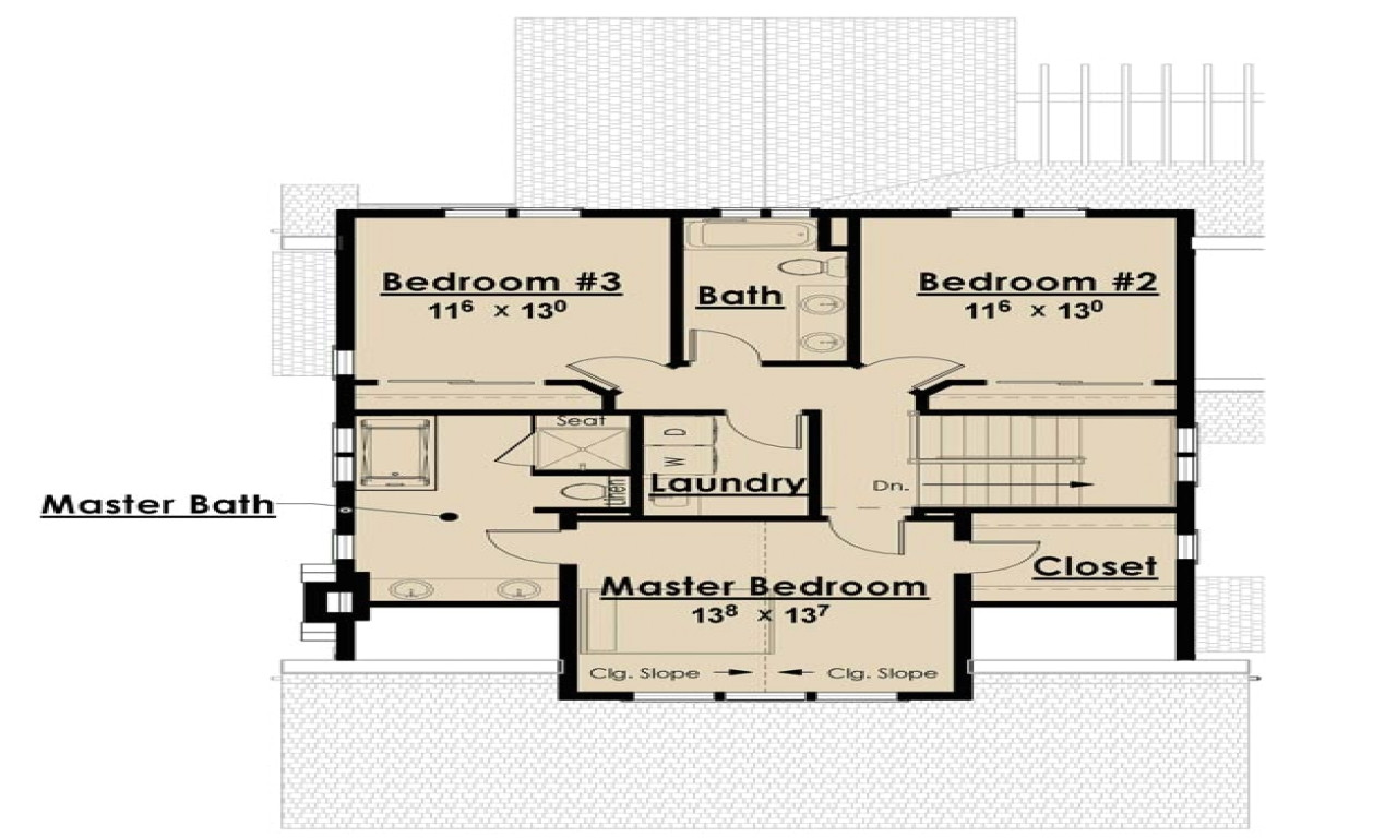 Single Story House Plans without Garage Single Story Open Floor Plans Bungalow Floor Plans without