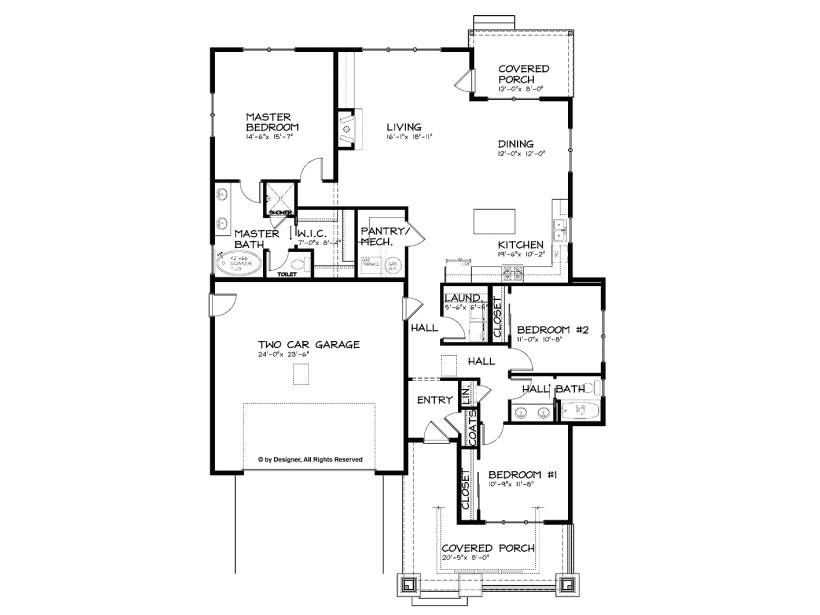 single floor house plans