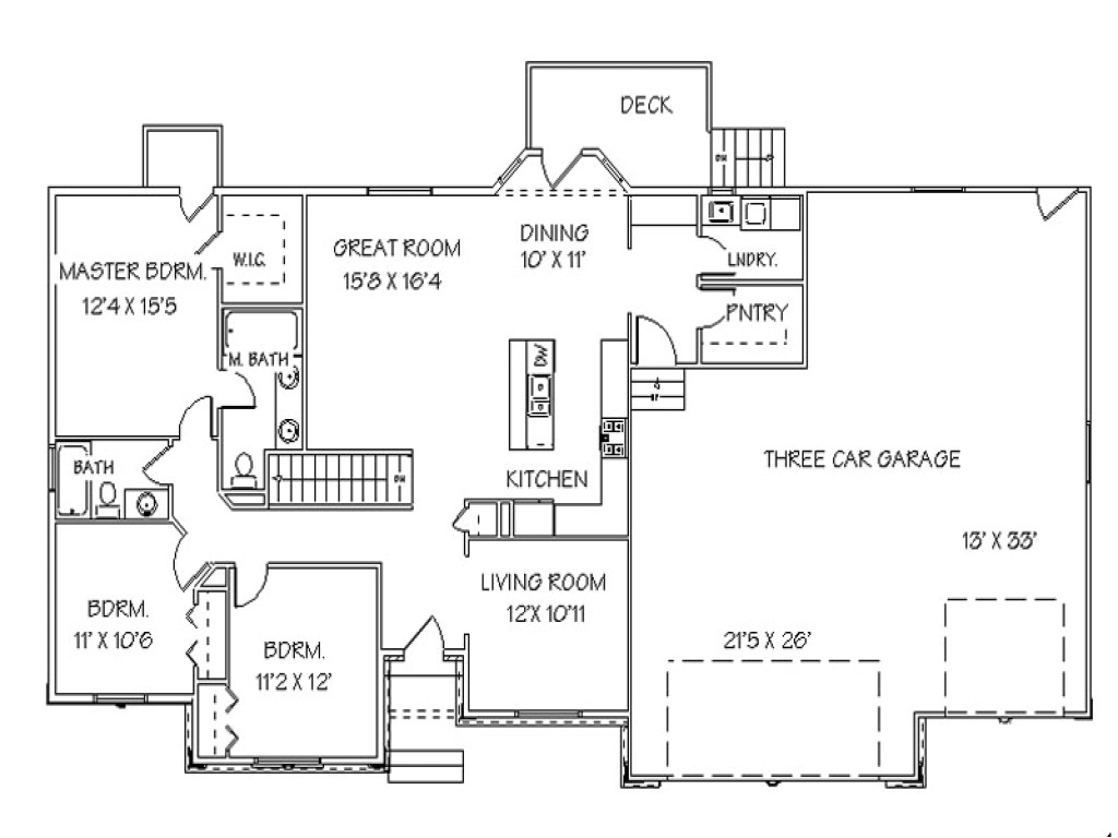 single story open floor plans ranch house floor plans with 0fdbbf4f9ca95c3f