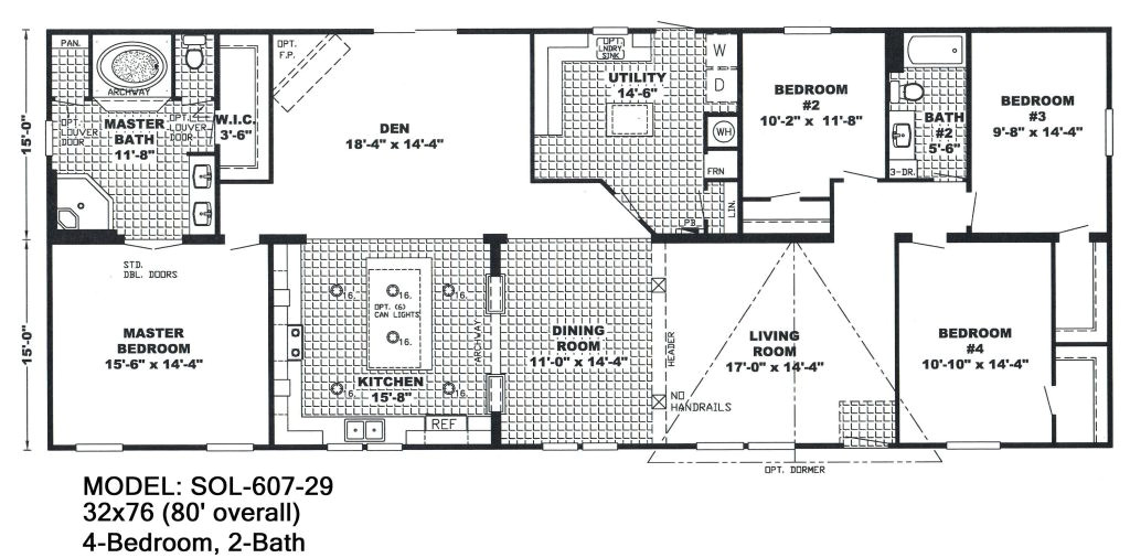 4 bedroom double wide mobile home floor plans unique mobile homes double wide floor plans 4 bedroom 3 bath single home