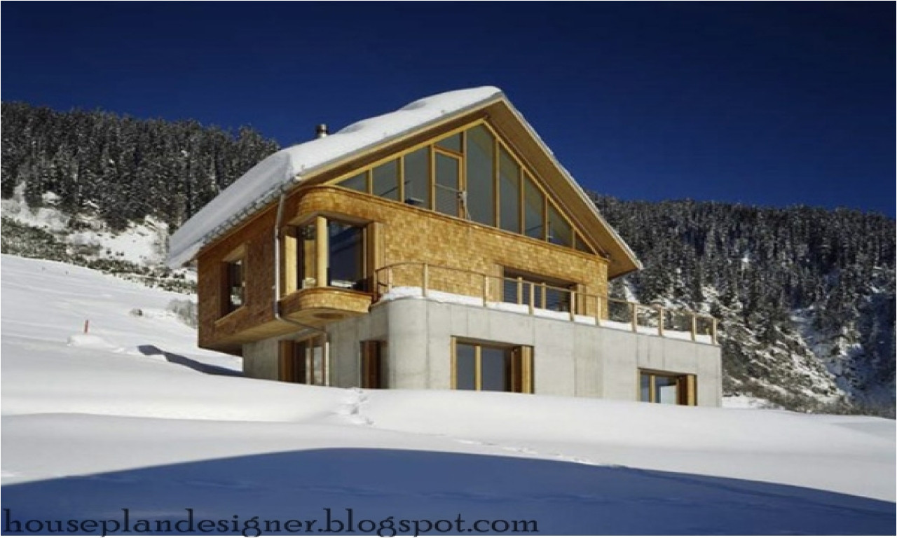 ski lodge house plans