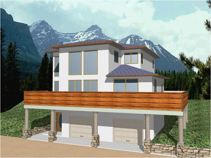 house plans for sloping lots