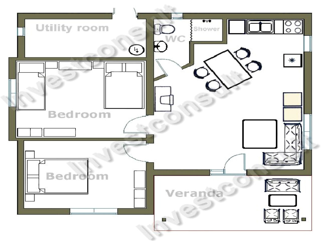 b922b22e2e456750 small two bedroom house floor plans small two bedroom cottages