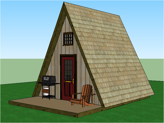 tiny house plans a frame