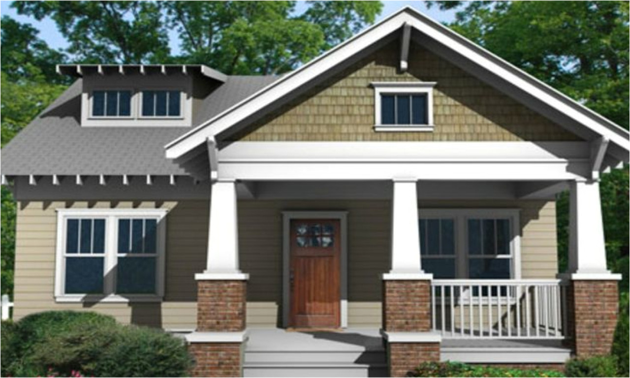 Small Bungalow Home Plans Small Craftsman Bungalow Style House Plans Floor Plans
