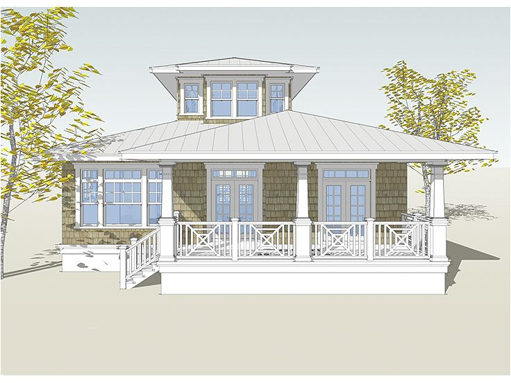 small beach cottage plans on pilings