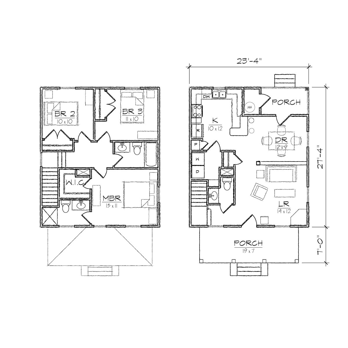 Small Foursquare House Plans Exceptional Square Home Plans 1 Small Square House Floor