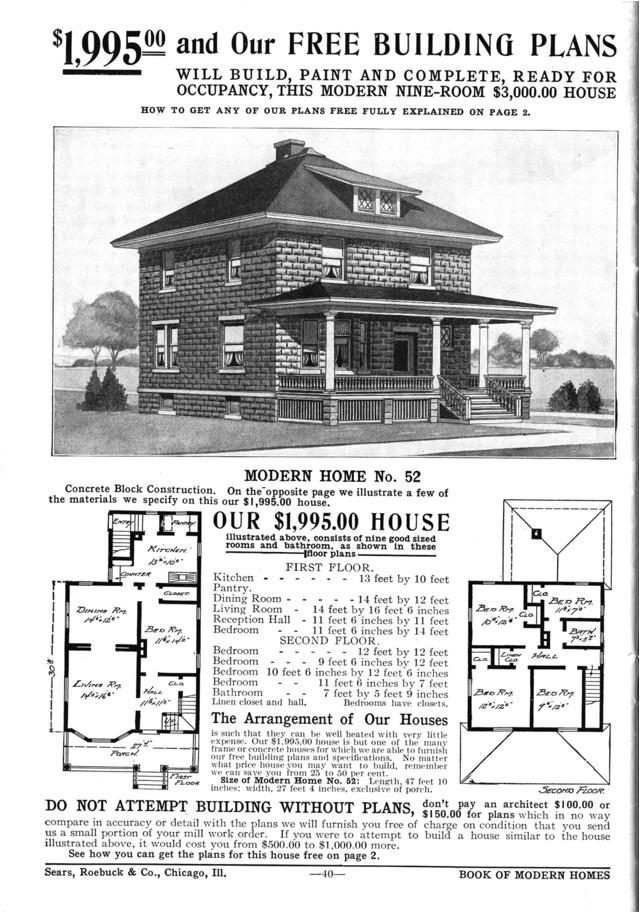 Small Foursquare House Plans Unique Square Home Plans 6 Sears American Foursquare