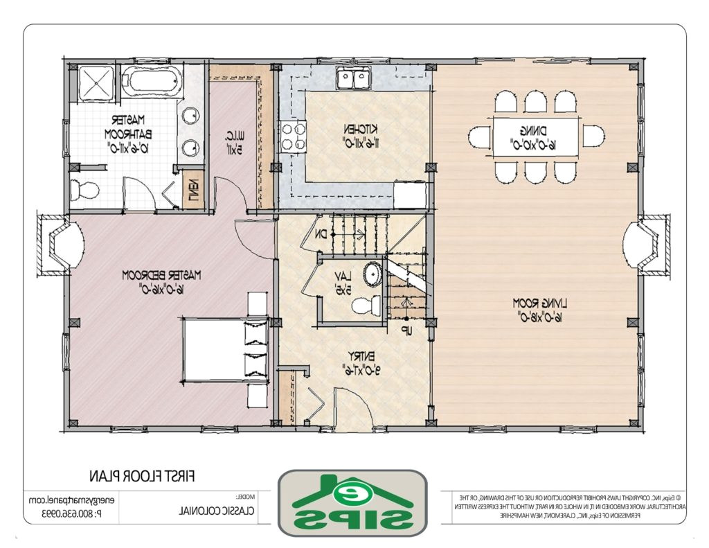 open floor small home plans