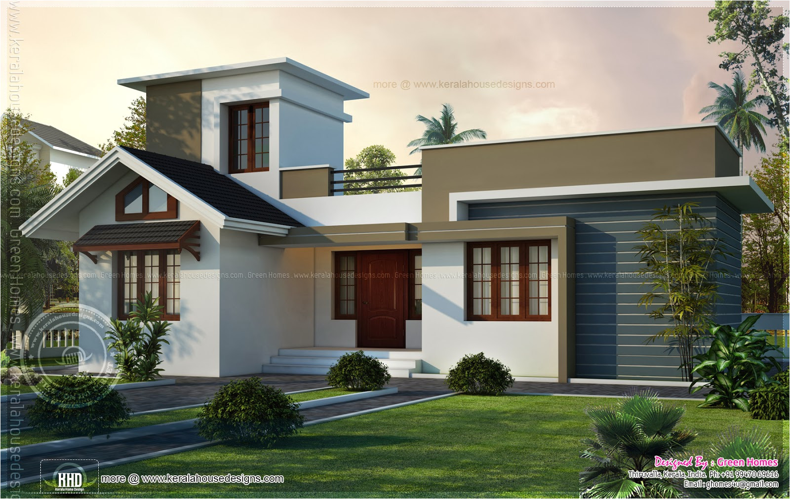 1000sqft small house elevation