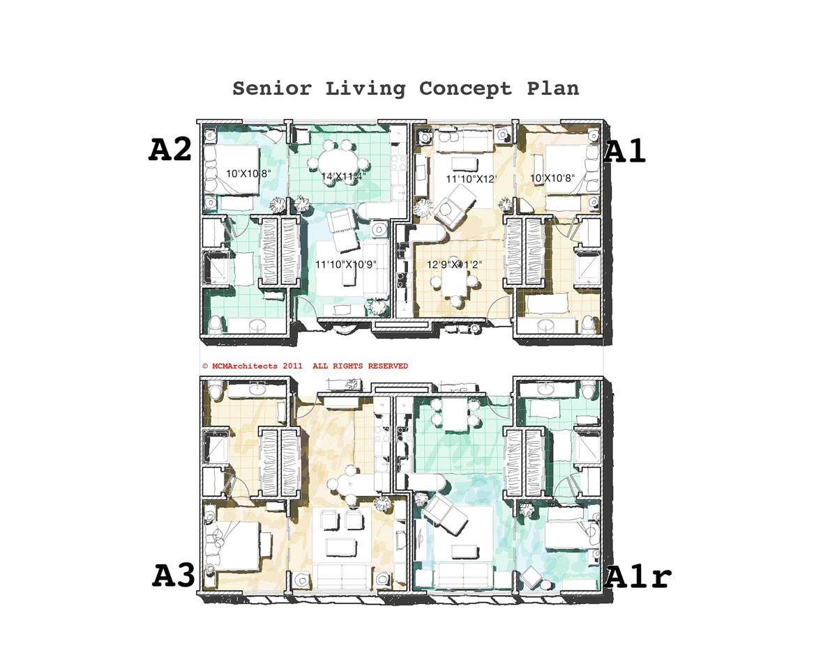 Small Home Plans for Senior Small House Plans for Seniors Homes Floor Plans