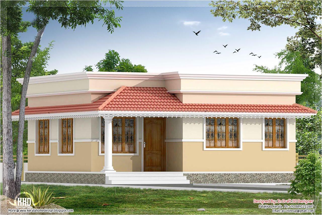Small Home Plans Kerala Kerala Style 2 Bedroom Small Villa In 740 Sq Ft Kerala