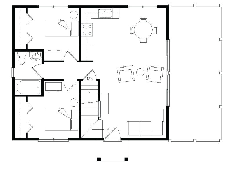 small house plans with loft bedroom