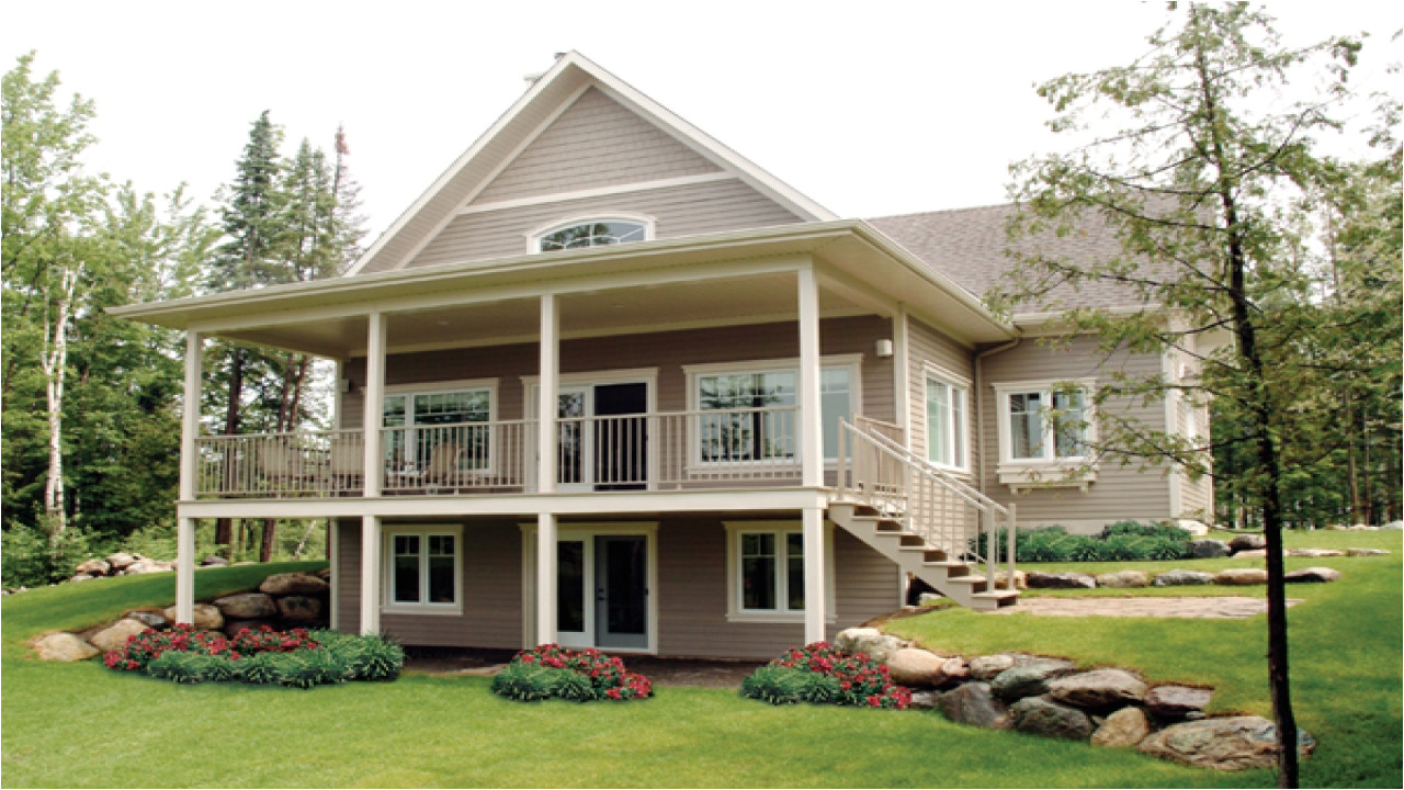 3c825bbef4a2d409 small house plans waterfront waterfront house plans with walkout basement