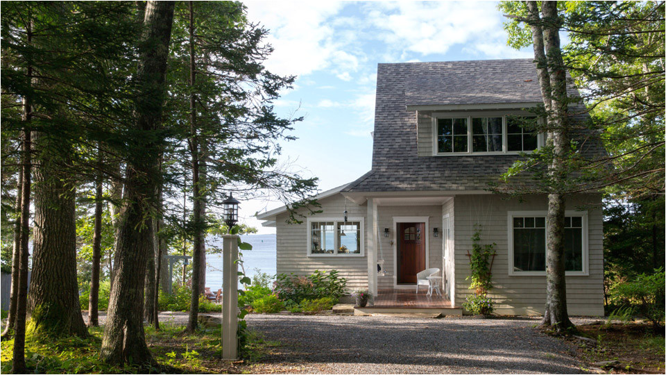 spruce point cottage in boothbay harbor maine