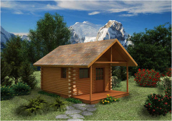 Small Log Home Plans One Bedroom Cabin Kits Joy Studio Design Gallery Best
