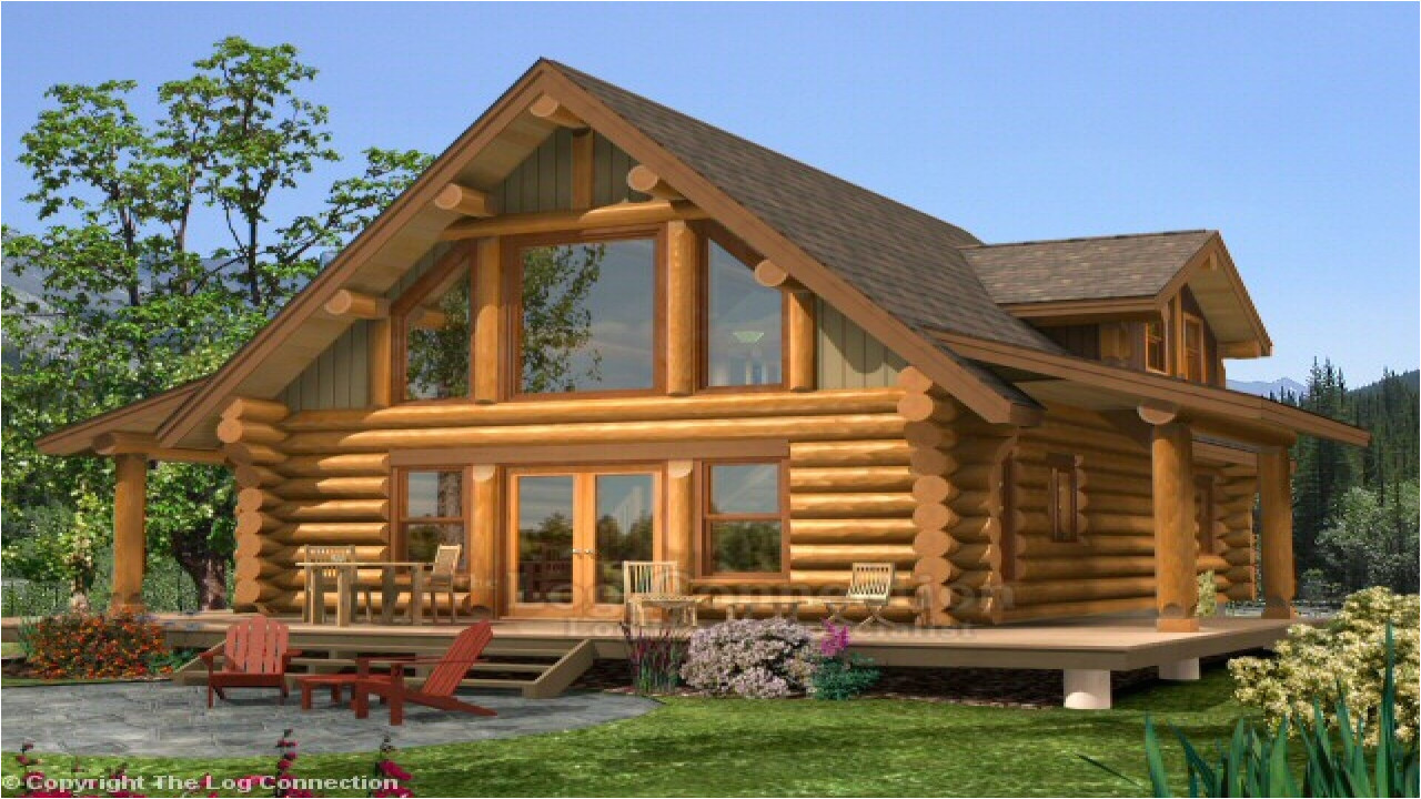 924d542ba8597ab1 small log home with loft log home plans and prices