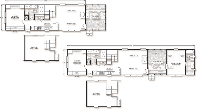 small manufactured homes floor plans plan 49426